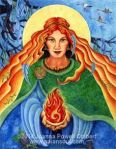 St. Brigid of Kildare by Joanna Powell Colbert